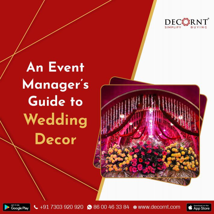 an event manager's guide to wedding decor
