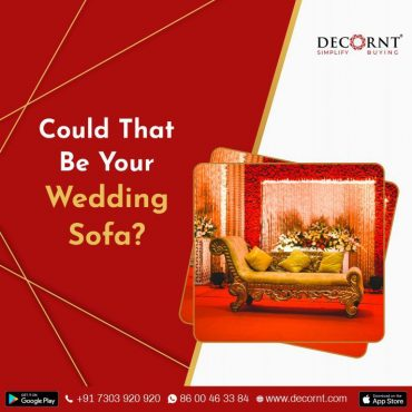 could that be your wedding sofa?