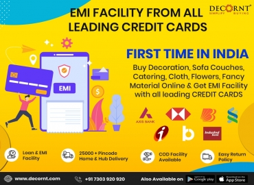 Now Get EMI Facility on all Leading Credit Cards.