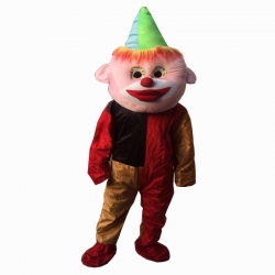 Cartoon Costume - Adult Mascot Mascot - Party Mascot - Made of High Quality Plush Material - Pack Of 1 - Multi Color