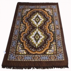 Cotton Floor Carpet / Galicha/ Rug / Carpet; Length 7ft X Breadth 4.5 ft; Multi Color.