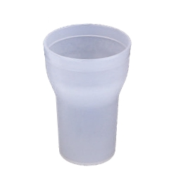 Plastic Glass - Drinking Glass - Plastic Serving Glass – White Color.