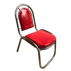 Red Color - Banquet Chair - Chair - Steel Chair - Wedding Chair - Made Of Stainless Steel
