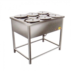 6 Bowl - Bain Marie Hot Case – Round Cases or Bowls.
