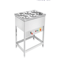 4 Bowl - Bain Marie Hot Case - Gas and Electric - Round Cases or Bowls.