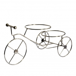 22 Inch - Cycle Shaped - Ring shaped Salad Stand - Made of Stainless Steel.