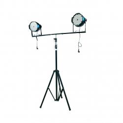 10 feet LED PAR Light stand  Heavy - Tripod Light Stand - T-bar Lighting Stand - Black Color