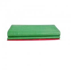 1.5 FT X 15 FT - Regular Bhojan Patti Plastic Floor Mat - Green Color
