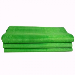 5 FT X 15 FT - Virgin Heavy Chhatai Plastic Mat - Green Color
