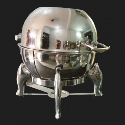 Chafing Dish - Stainless Steel with Mirror Finish.