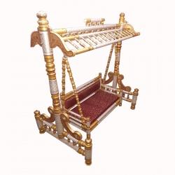 Wooden Swing - Sankheda Jhula - Made premium qaulity wood - Multi Color