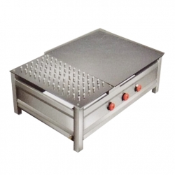 24X36 Inches Commercial Chapati Plate with Puffer.