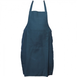 Cotton Kitchen Apron With Front Pocket