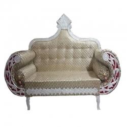 Begin Color - Regular - Couches - Sofa - Wedding Sofa - Maharaja Sofa - Wedding Couches - Made Of Wooden & Metal