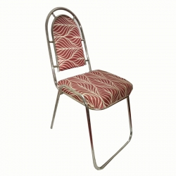 Set Of 10 Wedding Reception Steel Chair ; Made Of Steei & Foam;3ft Length X 1ft Breadth (Available Set Of 10,25,50 & 100)  : Maroon Color