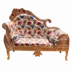 Multi Color - Regular Couches - Sofa - Wedding Sofa - Maharaja Sofa - Wedding Couches - Made of Wooden & Metal