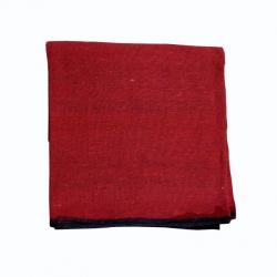 (9 Ft x 15 Ft) Regular Cotton Flooring - Mat - Dari -Rug - Satranji 3.75 KG Quality - Red Colour