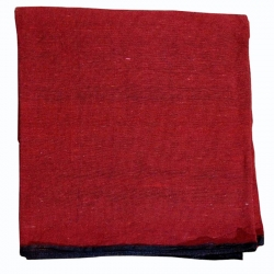 (8 ft X 10 ft) Flooring  - Mat Made of Premium Quality Cotton - Red Color.