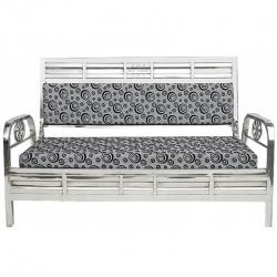3-Seater Stainless-S..