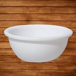 3.5 Inch - Bowl - Big Bowl - Made From Virgin Plastic - White Color