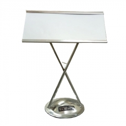 9 Inch - Big Menu Stand - Menu Card Holder- Made Of Stainless Steel