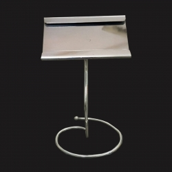 Big Menu Stand - Menu Card Holder - Made Of Stainless Steel