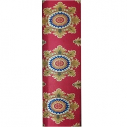 10 FT X 98 FT - Multi Color - Premium - Non Woven Jute Carpet - Mat - Floor Mat