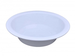 10 inch Donga Curry Bowls - Dessert Bowls - Made Of Food Grade Virgin Plastic - White Color