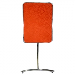 5 FT - Welcome Board - Display Board - Parivar Board - Swagat Board - Made of Stainless Steel - Red Color