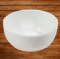 Small Katori - Curry or Soup or Dessert Bowls  or Chatni Wati Made Of Food-Grade Virgin Plastic - White Color