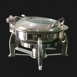 Hydrolic Garam Set - Hot Pot - Chafing Dish - Stainless Steel
