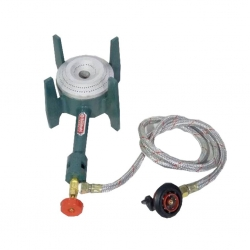 Gas Stove - Gas Bhatti - Canteen Small Burner with regulator and pipe - Iron Body