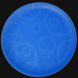 11 Inches Dinner Plates - Made Of Food-Grade Virgin Plastic Material - Light Blue Color