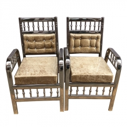 Cream Color - Wedding Chair - Varmala Chair - Chair Set - Mandap Chair - Lagan Mandap Chair - Steel Chair - Made Of Stainless Steel