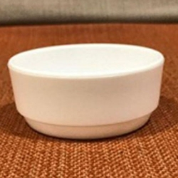 3 Inch Straight Katori - Bowl - Wati - Curry Bowls - Dessert Bowls - Made Of Food Grade Virgin Plastic - White Color