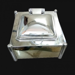 Chaffing Dish / 8 Ltr / Garam Set / Hot Pot - Dish / Made of Stainless Steel.