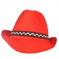 Waiter Hatt / Catering Hat / Red Color .