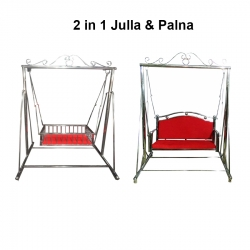 2 in 1 Jhulla & Palna - Credal - Made of  Stainless Steel.