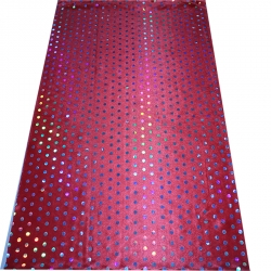 Big Tikli Work / Decoration Cloth / Maroon Color
