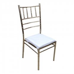 White Color - Zaveri Chairs - VIP Chair - Banquet Chairs - Decorative Chairs .