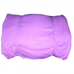 6 Meter Chandni / 62 Inch Panna / Light Pink Color / Heavy Cloth.