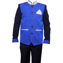 Waiter - Bearer - Bartender Coat Or Vest - Kitchen Uniform Or Apparel For Men - Full-Neckline - Full Sleave - Made Of Premium Quality Polyester & Cotton (Available size 38 , 40 , 42 , 44 , 46 , 48)