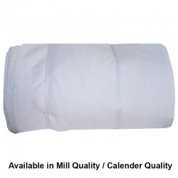 18 KG Taiwan / White Color/ 60 Inch Panna - Length / Available in Mill Quality & Calender Quality .