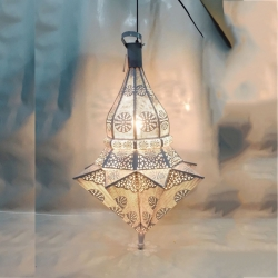 32 Inch - Hanging Lanterns - Decorative Lanterns  - Khandil - Made of Iron.