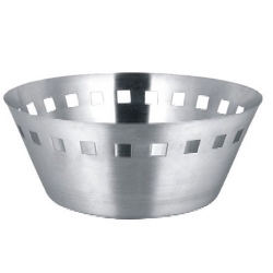8 Inch - Big Bread Basket - Made of Stainless Steel