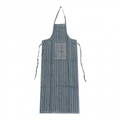Kitchen Apron With Front Pocket Multi-Color
