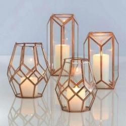 16 Inch - Decorative Lanterns - Hanging Lanterns - Khandil - Made of Iron.