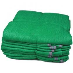 16 FT x 32 FT - 6 Gauge - 4 KG - Virgin Quality - Shaded Agro Net /  Mandap Flooring - Green Color .