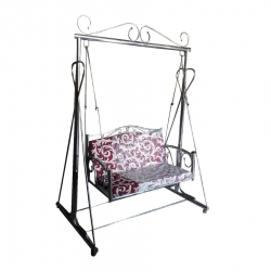 Printed - Jhula - Swing - Steel Jhula - Wedding Steel Jhula - Wedding Jhula - Made Of Stainless Steel