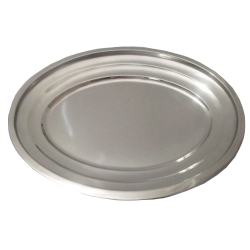 Stainless Steel Serving Tray .
